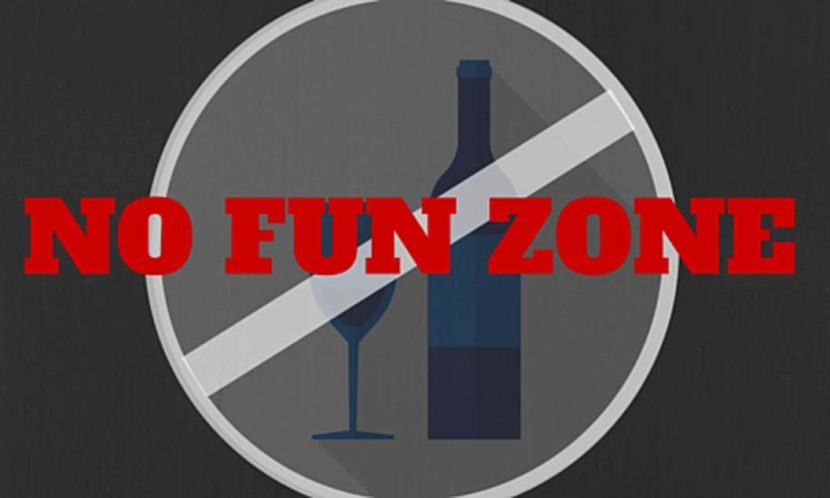 NO FUN ZONE